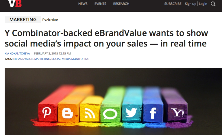 eBrandValue article on VentureBeat