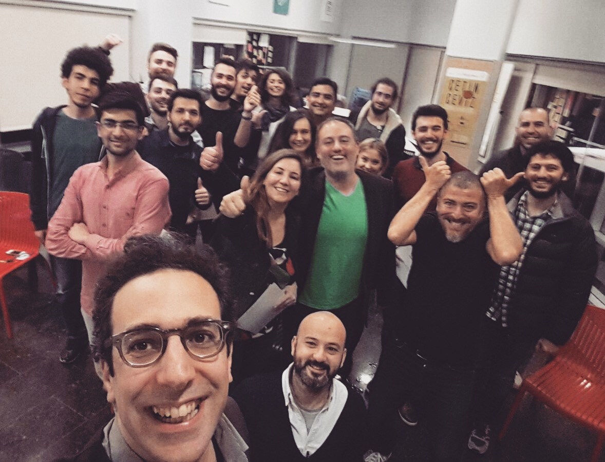 İTÜ Ginova ÇetinCeviz 2016 Demo-Day